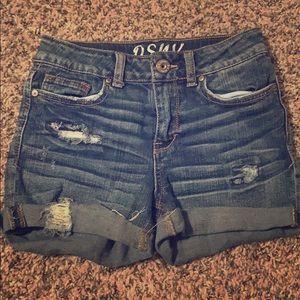 PSNY Youth denim shorts